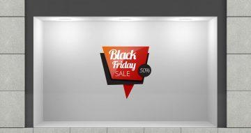 Black Friday - Black Friday μοντέρνο σύννεφο με δικό σας ποσοστό