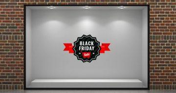 Black Friday - Black Friday Sale αστέρι με κορδέλα