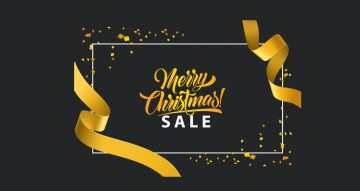 Αυτοκόλλητα καταστημάτων - Αυτοκόλλητο Merry Christmas sale