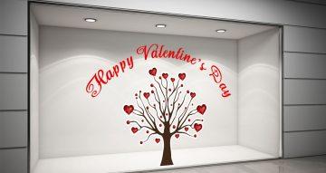Αγίου Βαλεντίνου - Δέντρο με καρδούλες