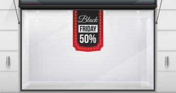 Black Friday - Black Friday - Κρεμαστή κορδέλα με δικό σας ποσοστό