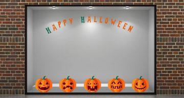 """Αποκριάτικα (Halloween) - Κολοκύθες και """"Happy Halloween"""""""