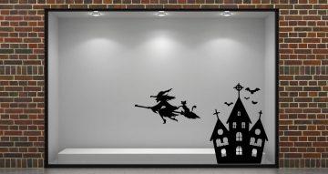 Αποκριάτικα (Halloween) - Halloween Σπίτι με Μάγισσα