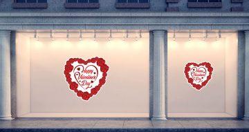 Αγίου Βαλεντίνου - Τριαντάφυλλα σε σχήμα καρδιάς