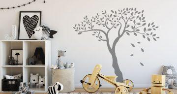 Selected products - Δέντρο μονόχρωμο με φύλλα που πέφτουν