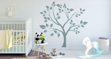 Selected products - Δέντρο μονόχρωμο με μεγάλα φύλλα