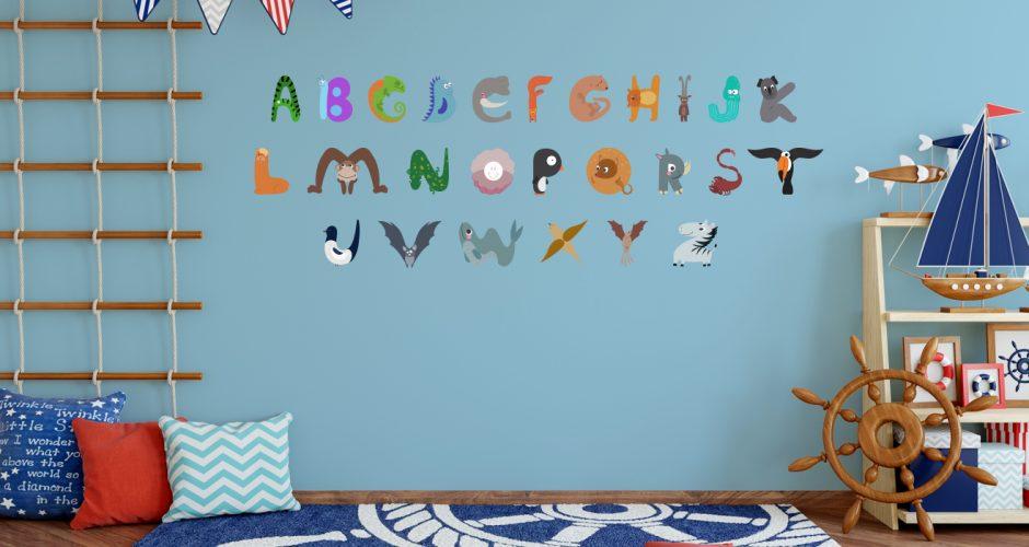 Αλφάβητα - Αλφάβητο με γράμματα από ζωάκια
