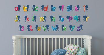 Selected products - Καρτουνίστικο Αλφάβητο με παιδάκια σε κάθε γράμμα