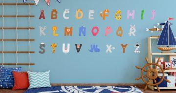 Selected products - Πολύχρωμο αλφάβητο με γράμματα σε σχήματα από ζωάκια