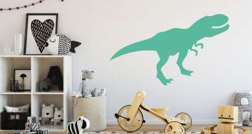 Αυτοκόλλητα Τοίχου - Διάφοροι μονόχρωμοι δεινόσαυροι