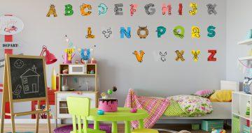 Selected products - Πολύχρωμο αλφάβητο με σχέδια από ζωάκια