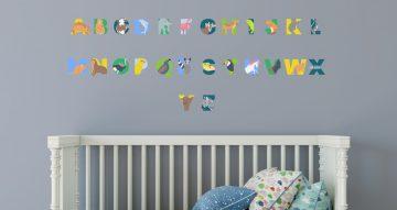 Αλφάβητα - Αλφάβητο με εικόνες από ζωάκια για κάθε γράμμα