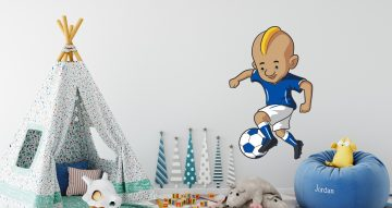 Selected products - Ποδοσφαιριστής σε καρτουνίστικο στυλ