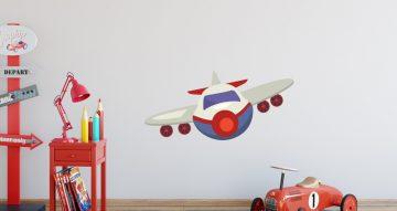 Αεροπλάνα - Μπροστινή όψη επιβατικού αεροπλάνου