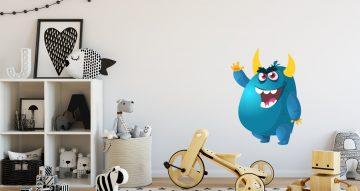 Selected products - Αστείο μπλε εξωγήινο τερατάκι