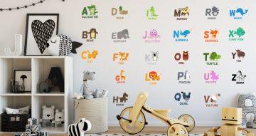 Selected products - Πολύχρωμο αλφάβητο με ζωάκια