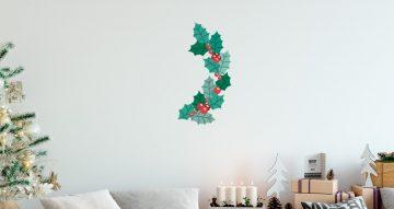 Αυτοκόλλητα Τοίχου - Αυτοκόλλητο ζωγραφιστό γκι