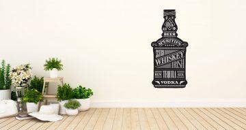 Αυτοκόλλητα καταστημάτων - Bar bottle