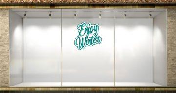 Χειμωνιάτικη βιτρίνα - Enjoy Winter
