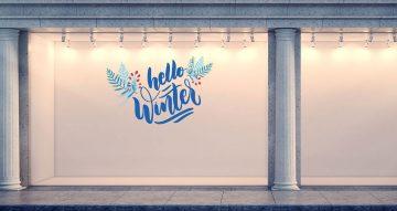 Χειμωνιάτικη βιτρίνα - Hello Winter