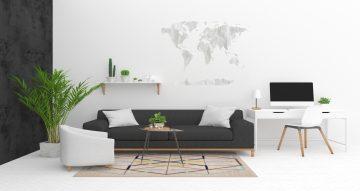 Αυτοκόλλητα Τοίχου - Παγκόσμιος χαρτης