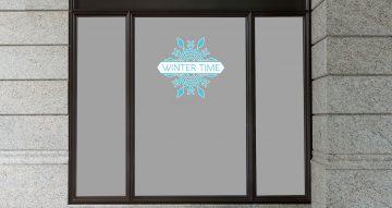 Χειμωνιάτικη βιτρίνα - Winter Time