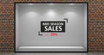 10ήμερο / 15ήμερο προσφορών - Mid season sales σε πλαίσιο με το δικό σας ποσοστό