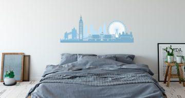 Αυτοκόλλητα καταστημάτων - Πανοραμική θέα Λονδίνου