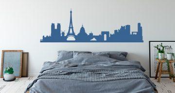 Αυτοκόλλητα καταστημάτων - Το Παρίσι πανοραμικά