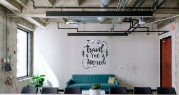 Αυτοκόλλητα καταστημάτων - Travel the world