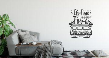 Αυτοκόλλητα Τοίχου - It's time for a new adventure