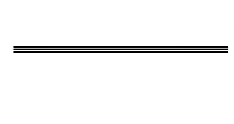 Αυτοκόλλητα καταστημάτων - Διακοσμητικές παράλληλες γραμμές