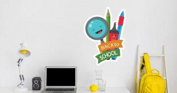 Αυτοκόλλητα καταστημάτων - Back to school