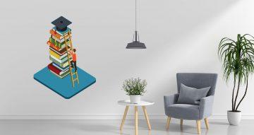Αυτοκόλλητα καταστημάτων - Book-stairs