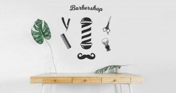 Αυτοκόλλητα καταστημάτων - Barber pole