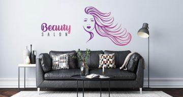 Αυτοκόλλητα καταστημάτων - Beauty salon