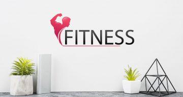 Αυτοκόλλητα καταστημάτων - Fitness man