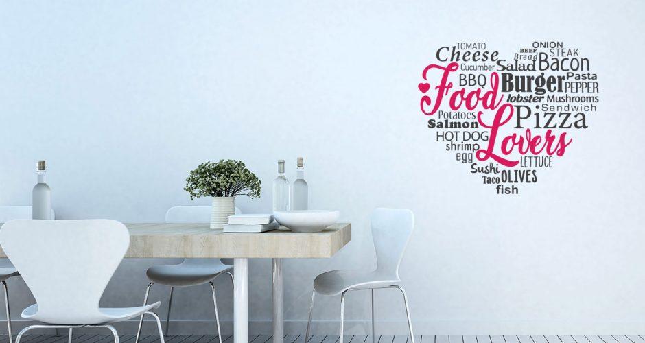 Αυτοκόλλητα καταστημάτων - Food lovers