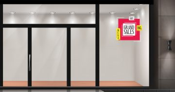 Αυτοκόλλητα καταστημάτων - GRAND SALES