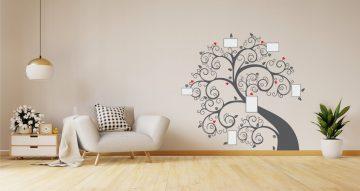 Αυτοκόλλητα Τοίχου - Family tree (Οικογενειακό δέντρο)