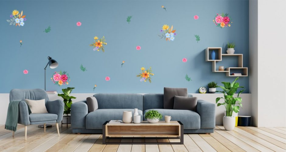 Floral - Πανέμορφο σετ με διάφορα λουλούδια