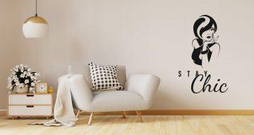 Αυτοκόλλητα καταστημάτων - Stay chic