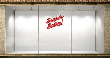 Αυτοκόλλητα καταστημάτων - SUPER SALES