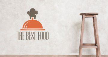 Αυτοκόλλητα καταστημάτων - The best food