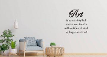 Αυτοκόλλητα Τοίχου - Art quot