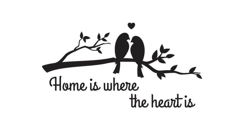 Αυτοκόλλητα Τοίχου - Love birds