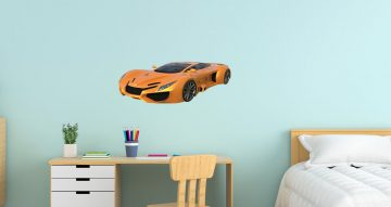 Αυτοκόλλητα Τοίχου - Supercar σε πανέμορφο χρώμα