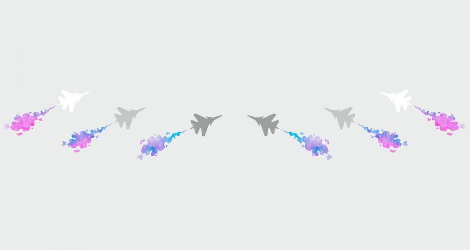 Αεροπλάνα - Φιγούρες απο μαχητικά αεροσκάφοι.