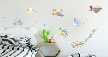 Αεροπλάνα - Ζωγραφιστά ιπτάμενα οχήματα