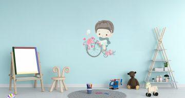 Άνθρωποι & φιγούρες - Μικρό αγοράκι σε ποδήλατο